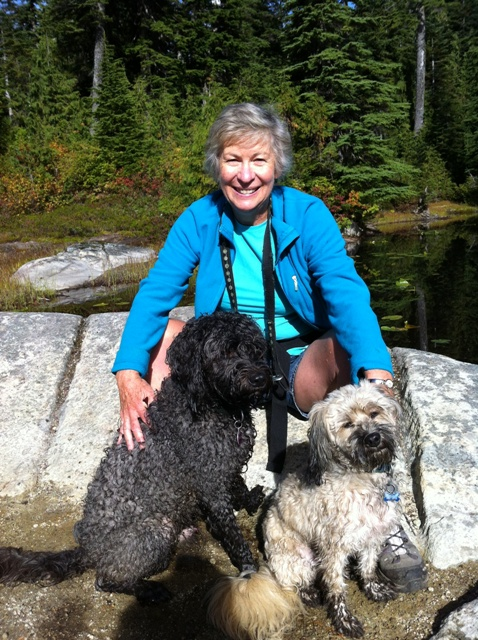 bev-with-her-dogs